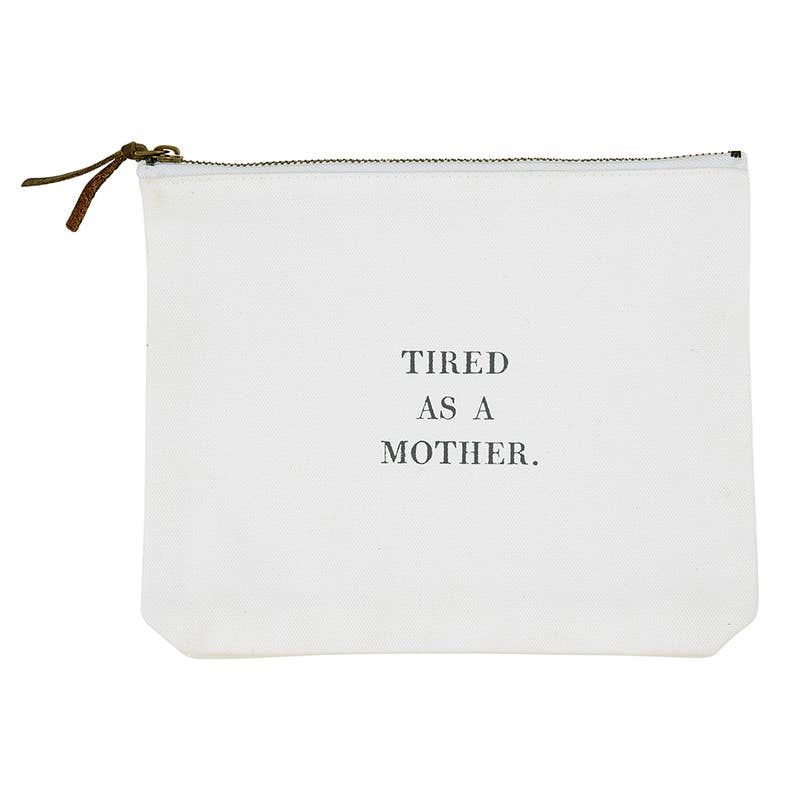 Santa Barbara Design Studio by Creative Brands - F2F Tired As Canvas Zip Pouch