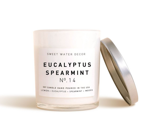 Sweet Water Decor - Eucalyptus Spearmint Soy Candle