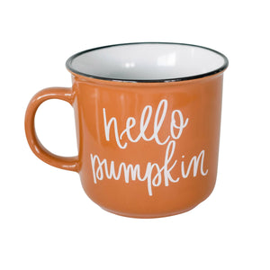 Sweet Water Decor - Hello Pumpkin Campfire Coffee Mug