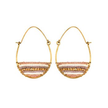 PURPOSE Jewelry - Terra Hoops Gold