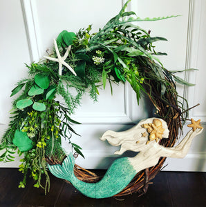 Mermaid Seagrass Wreath