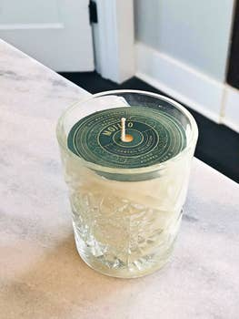 Rewined  Mojito Vintage Inspired Candle