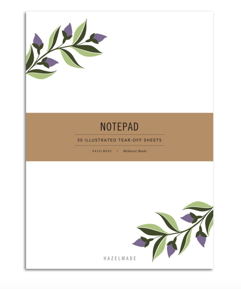 HAZELMADE - Notepad Small - Ivy