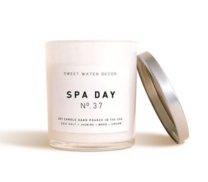 Sweet Water Decor - Spa Day Soy Candle