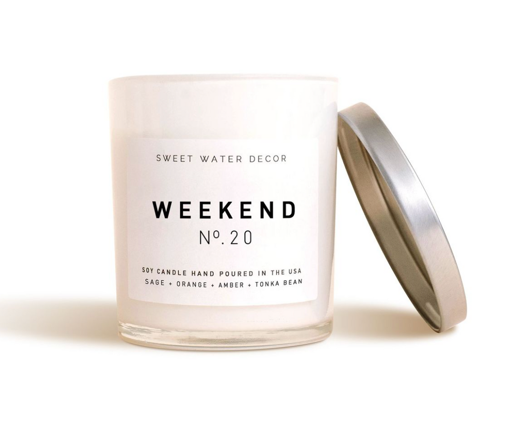 Sweet Water Decor - Weekend Soy Candle