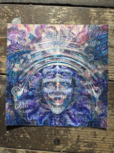 """ARE YOU SHPONGLED?"" BLOTTER ART"