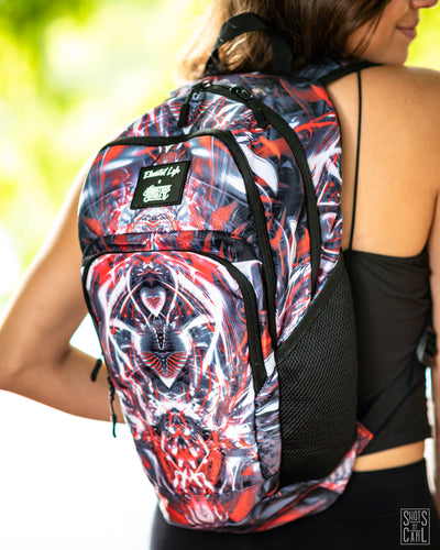 """LOVE MACHINE"" ELEVATED LYFE X JOHNATHAN SINGER HYDRATION BACKPACK (2L)"