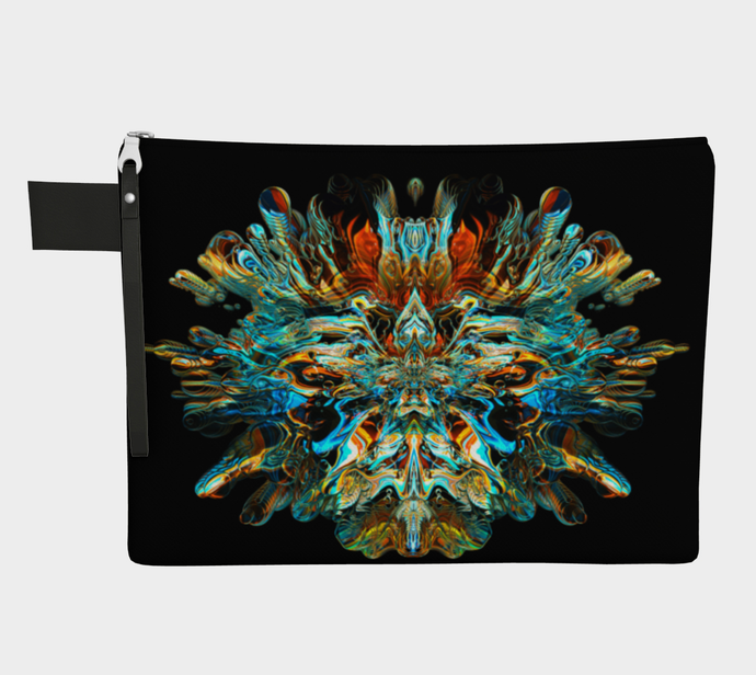 MERCURY IN RETROGRADE ZIPPER POUCH