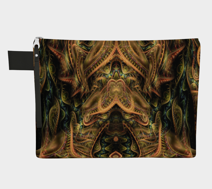 DRAGON'S LAIR ZIPPER POUCH