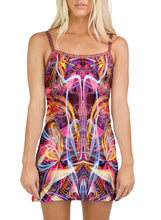 TRIPPING THE LIGHT FANTASTIC MINI DRESS