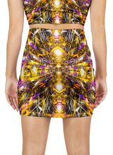 DIAMONDS AND THUNDERBOLTS MINI SKIRT