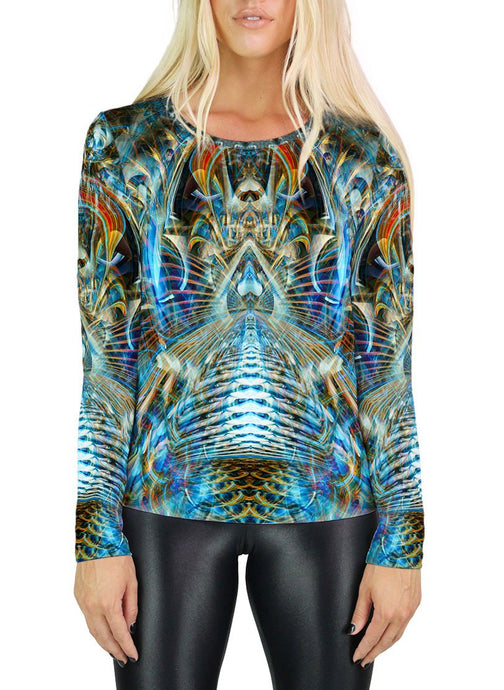 MERE REFLECTION WOMENS LONG SLEEVE T-SHIRT