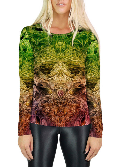 SPECTRAL EVIDENCE WOMENS LONG SLEEVE T-SHIRT