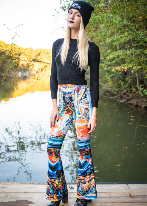 AS ABOVE SO BELOW BELL LEGGINGS