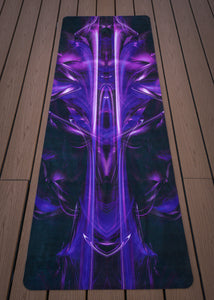 PURPLE ALIEN YOGA MAT