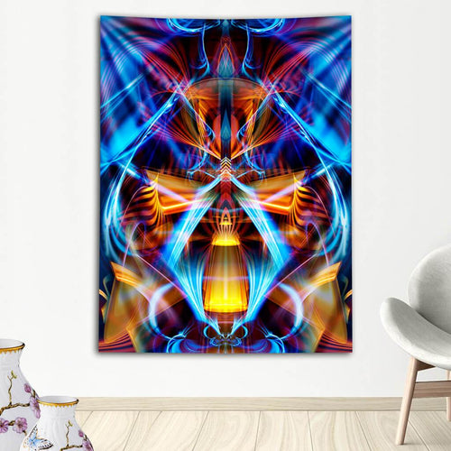 GALACTIC SPHINX TAPESTRY