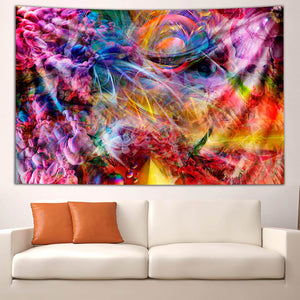PSYCHEDELIC CIRCUS TAPESTRY