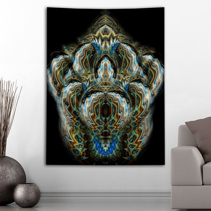ALIEN FLOWER TWO TAPESTRY