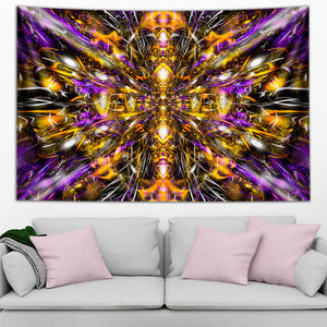 DIAMONDS AND THUNDERBOLTS TAPESTRY