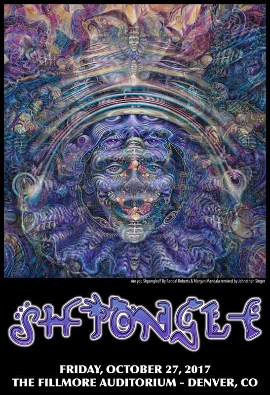 SHPONGLE DENVER POSTER