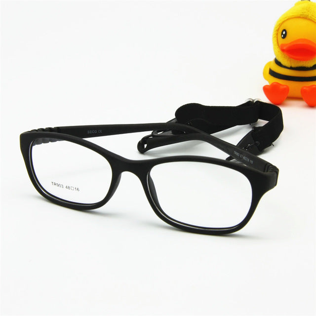 81214c39bc Children Optical Glasses Frame with Strap Size 48