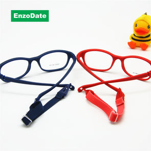 Kids Eyeglasses with Cord for Girls & Boys