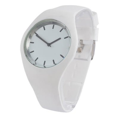 Multicolor Silicone Quartz Wrist Watch