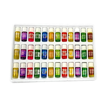 36 pcs/Set Essential Oil 12 Kind 3ML Fragrance Aromatherapy Oil Natural Spa Oil Pack
