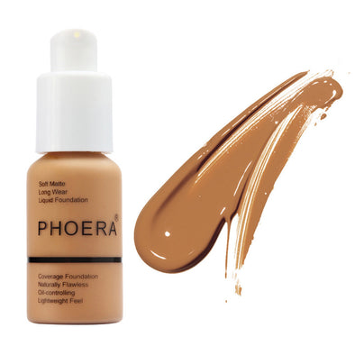 30ml Matte Oil Control Concealer Liquid Foundation