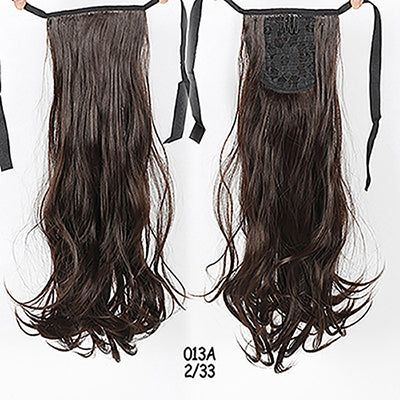 "22"" Long Straight Ponytail Hair Extensions"