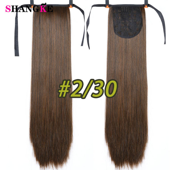 "22"" Long Straight Ponytail"