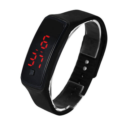 Run Step Walking Distance Calorie Counter Bracelet Watch