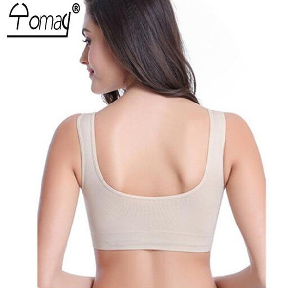 Seamless Top Comfortable  Running Fitness Yoga Bra