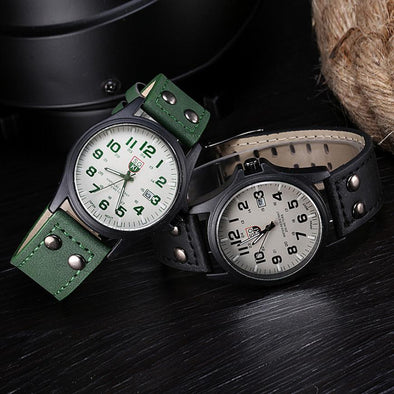 Waterproof Vintage Quartz Watches for Men