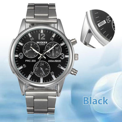 Stainless Steel Analog Quartz for Men