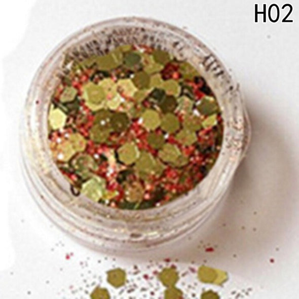 Hybrid Sequins Round Colorful Glitter