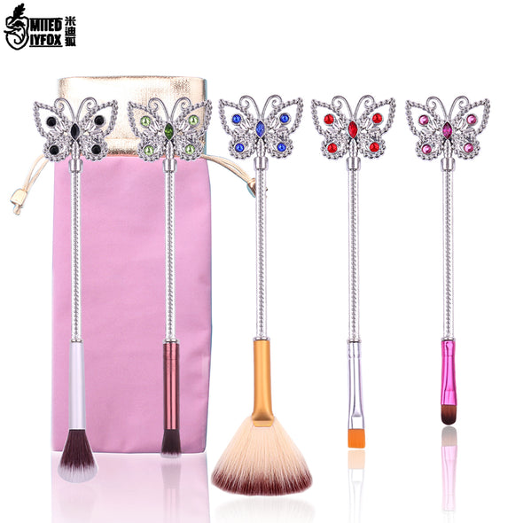 Crystal Butterfly Makeup Brush
