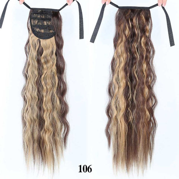 Long Curly Ponytail For Women