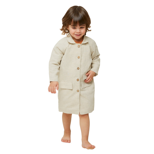 Turtle Coat - Cream