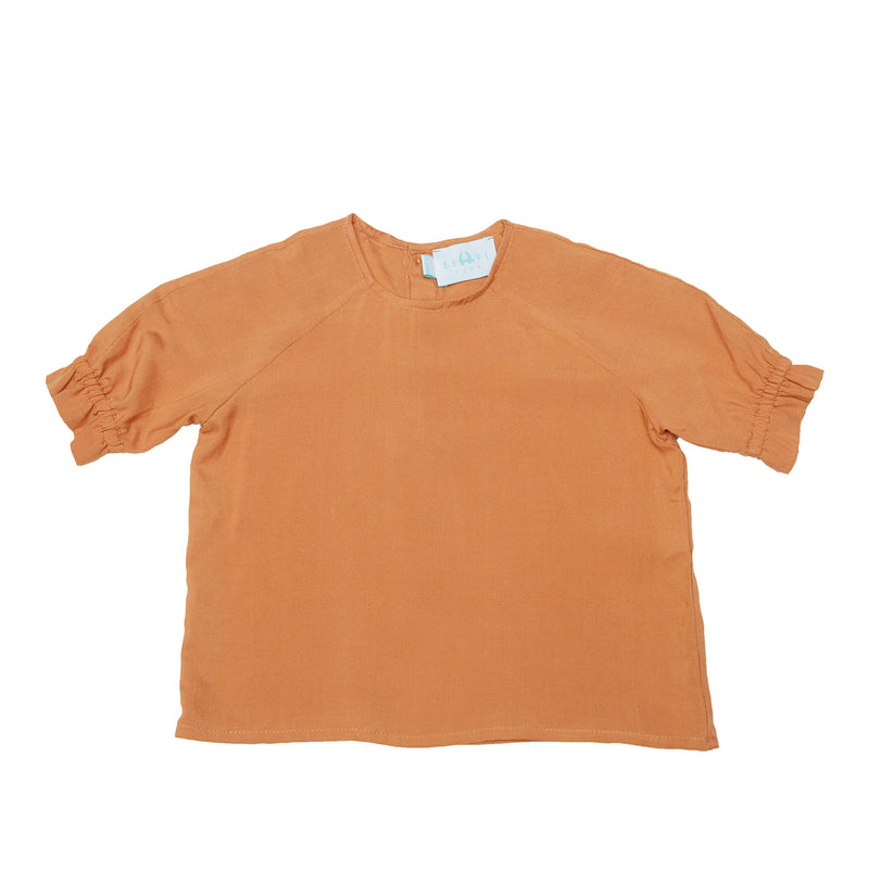 Organic Cotton - Summer Shirt Coral