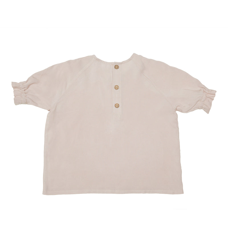 Organic Cotton - Summer Shirt in Dusty Pink