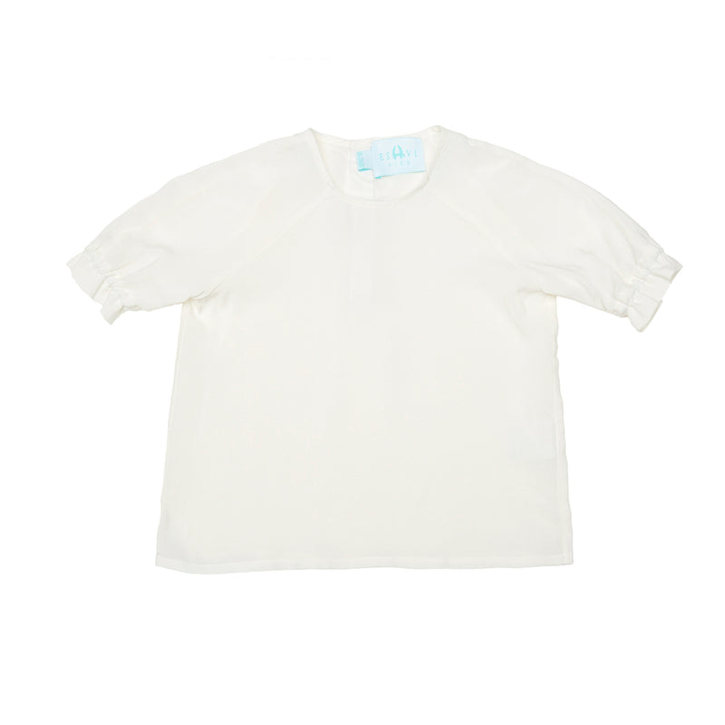 Organic Cotton - Summer shirt with Short selves