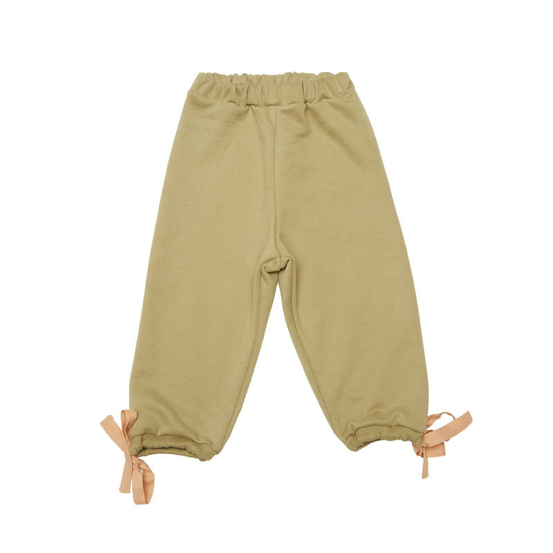 Organic Cotton Pants - Mustard
