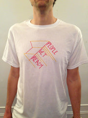 Merch: People Get Ready t-shirt (Zig Zag)