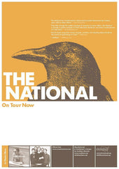 HWY-001: s/t by The National (vinyl LP & poster bundle)