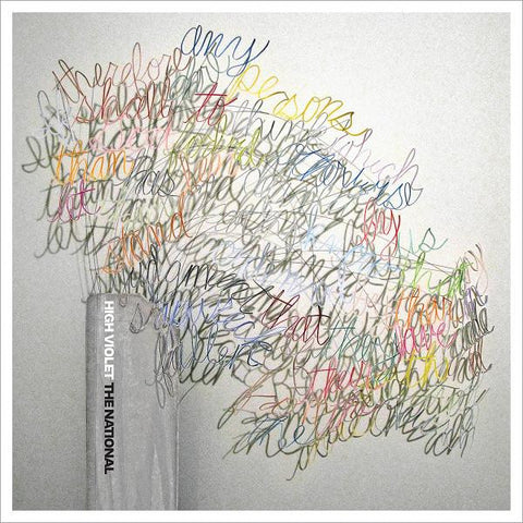 Merch: High Violet by The National (CD version)