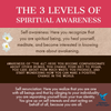The 3 Levels of Spiritual Awareness