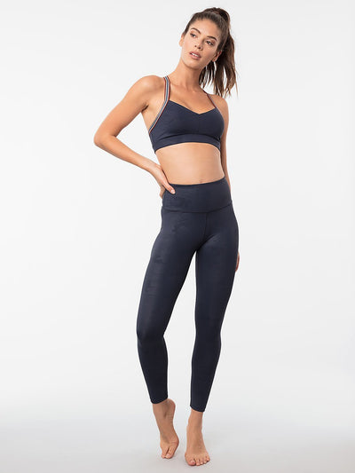 ENSMBL Bottoms Azure Camo High Waisted Legging Navy-Camo / XS / ENSP6389