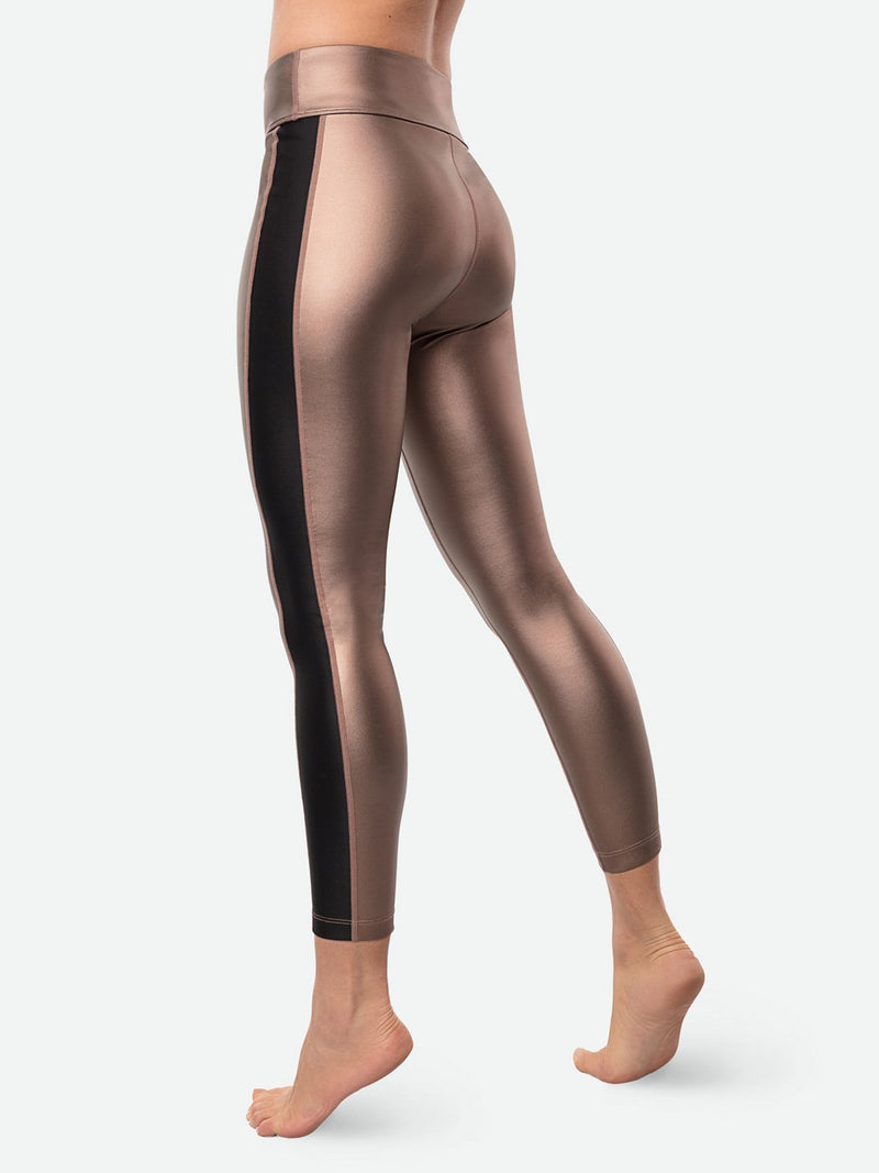 Bronze Sol Tuxedo Legging, Final Sale