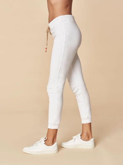 ENSMBL Bottoms Off Duty Slim Jogger, White